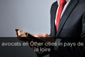 Avocats en Other cities in pays de la loire
